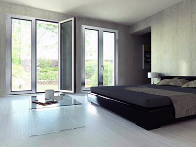 Serramenti in alluminio - Un antica finestra a tre aperture ...