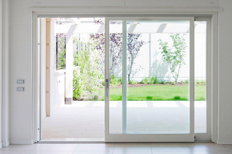 Serramenti in alluminio - Porta finestra misure ...